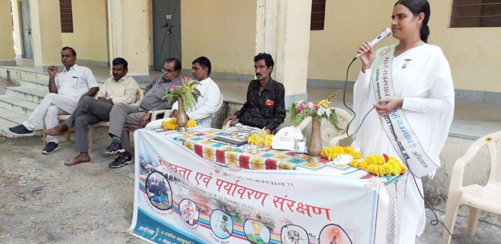 Mharo Rajasthan Samruddh Rajasthan Jaipur to Abu  Campaign's program By BK Seema