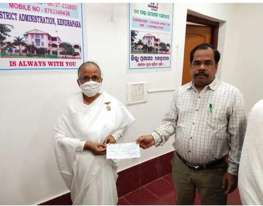 PM COVID-19 Relief Fund By World Renewal Spiritual Trust, Brahma Kumaris